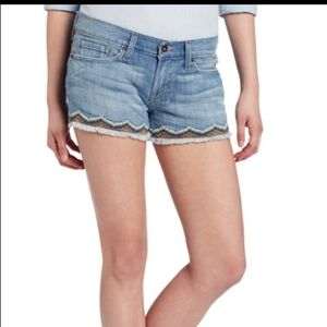 Lucky Brand Riley Short Aztec Embroidery 6 28
